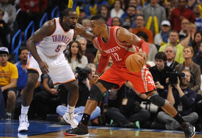 Rockets vs. Thunder - 1/15/15 NBA Pick, Odds, and Prediction