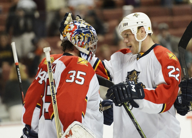 Florida Panthers vs. Anaheim Ducks - 2/10/15 NHL Pick, Odds, and Prediction