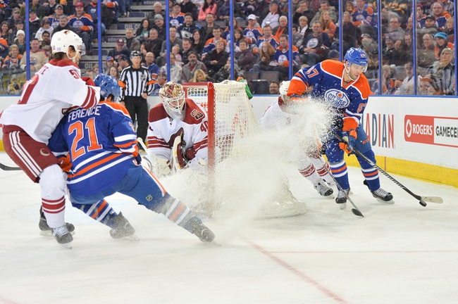 Oilers vs. Coyotes - 12/1/14 NHL Pick, Odds, and Prediction