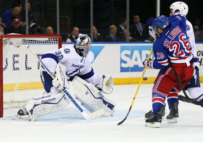 Tampa Bay Lightning vs. New York Rangers - 11/26/14 NHL Pick, Odds, and Prediction