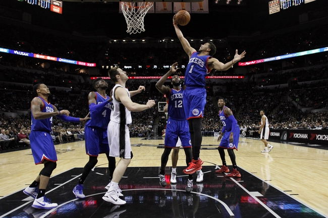 76ers vs. Spurs - 12/1/14 NBA Pick, Odds, and Prediction