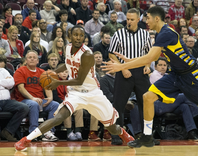 Ohio State vs. James Madison - 11/28/14 College Basketball Pick, Odds, and Prediction
