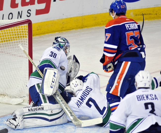 Vancouver Canucks vs. Edmonton Oilers - 4/11/15 NHL Pick, Odds, and Prediction