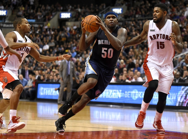 Grizzlies vs. Raptors - 1/21/15 NBA Pick, Odds, and Prediction