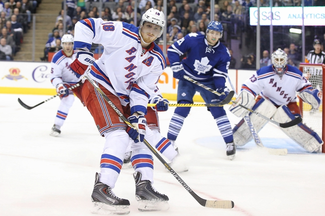 Maple Leafs vs. Rangers - 2/10/15 NHL Pick, Odds, and Prediction