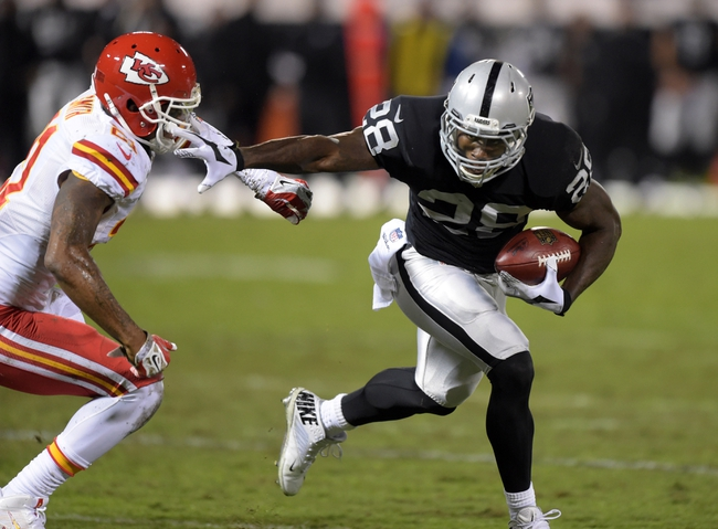 Kansas City Chiefs at Oakland Raiders NFL Score, Recap, News and Notes
