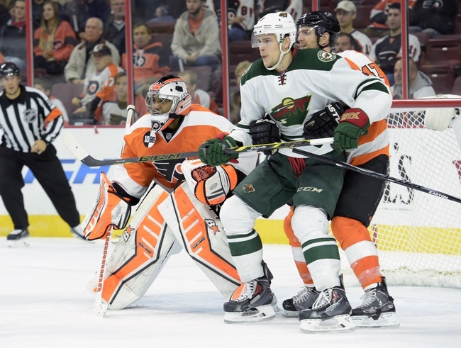 Wild vs. Flyers - 12/23/14 NHL Pick, Odds, and Prediction