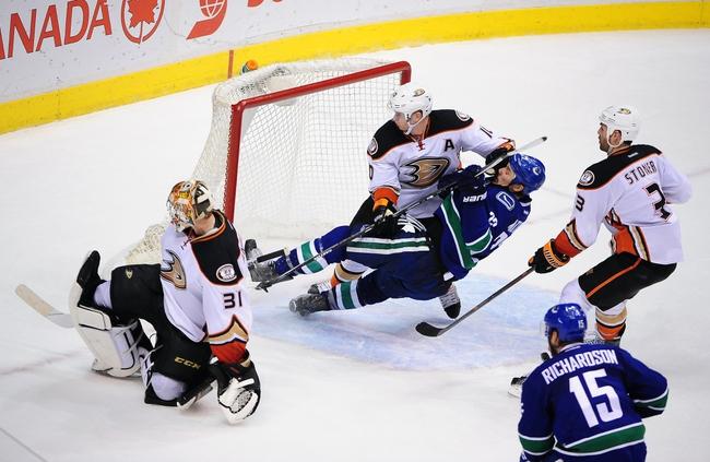 Ducks vs. Canucks - 12/28/14 NHL Pick, Odds, and Prediction
