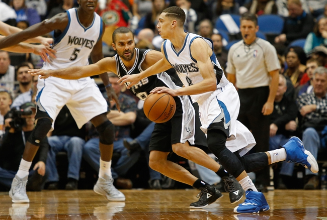 Spurs vs. Timberwolves - 12/6/14 NBA Pick, Odds, and Prediction