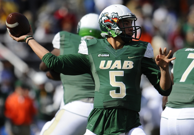 Southern Miss Golden Eagles vs. UAB Blazers - 11/29/14 College Football Pick, Odds, and Prediction