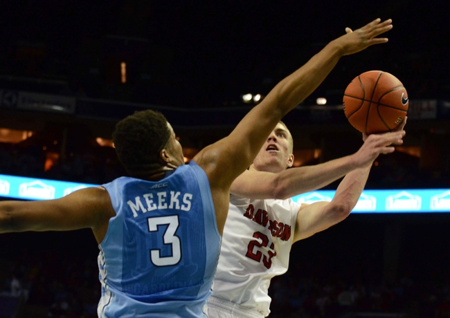 North Carolina vs. Davidson - 12/6/15 College Basketball Pick, Odds, and Prediction