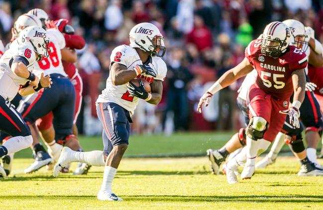 Raycom Media Camellia Bowl: South Alabama  vs. Bowling Green  - 12/20/14 College Football Pick, Odds, and Prediction