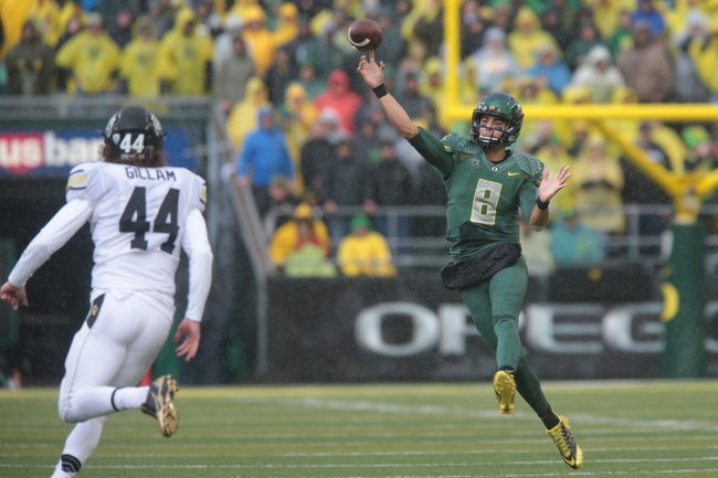 Oregon State vs. Oregon - 11/29/14 College Football Pick, Odds, and Prediction