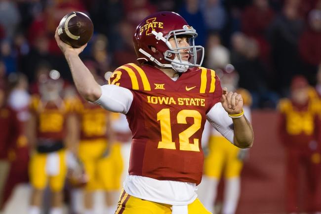 Iowa State vs. Iowa - 9/12/15 College Football Pick, Odds, and Prediction