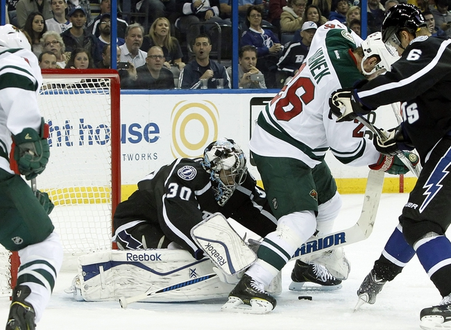 Minnesota Wild vs. Tampa Bay Lightning - 11/7/15 NHL Pick, Odds, and Prediction