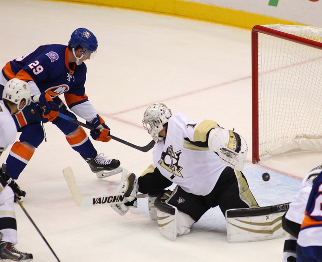 Islanders vs. Penguins - 1/16/15 NHL Pick, Odds, and Prediction