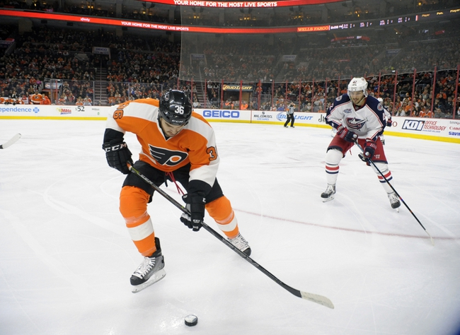 Blue Jackets vs. Flyers - 12/9/14 NHL Pick, Odds, and Prediction