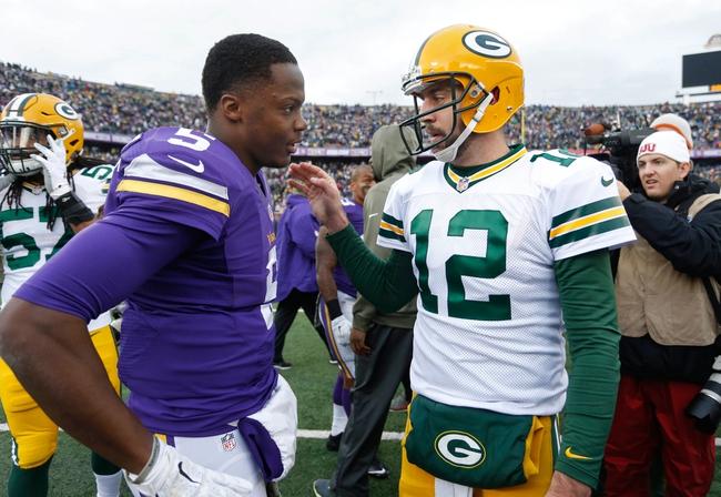 Minnesota Vikings vs. Green Bay Packers - 11/22/15 NFL Pick, Odds, and Prediction