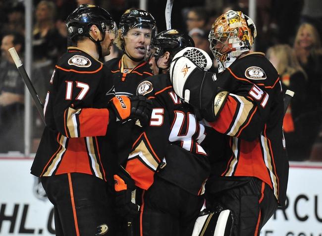 Arizona Coyotes vs. Anaheim Ducks - 12/27/14 NHL Pick, Odds, and Prediction