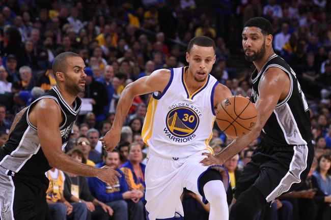 Spurs at Warriors - 1/25/16 NBA Pick, Odds, and Prediction