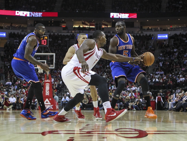New York Knicks vs. Houston Rockets - 1/8/15 NBA Pick, Odds, and Prediction