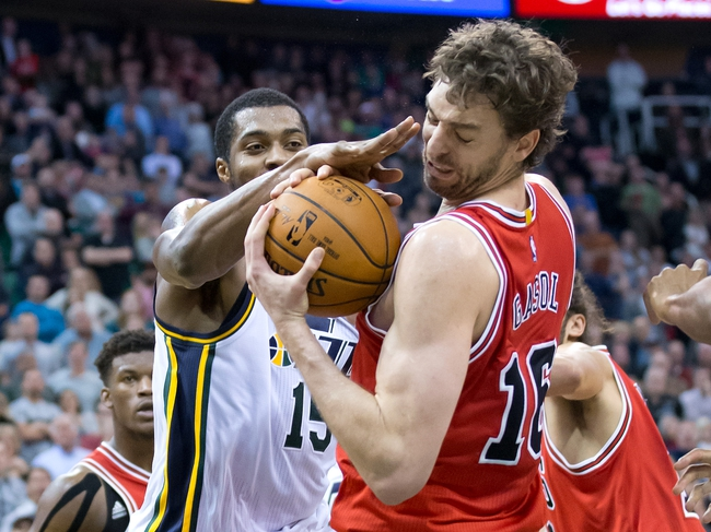 Bulls vs. Jazz - 1/7/15 NBA Pick, Odds, and Prediction
