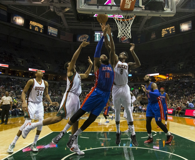 Pistons vs. Bucks - 11/28/14 NBA Pick, Odds, and Prediction