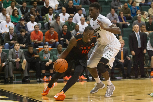 Miami Hurricanes vs. Charlotte 49ers - 12/5/15 College Basketball Pick, Odds, and Prediction