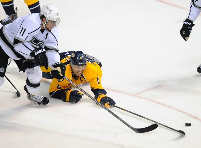 Kings vs. Predators - 1/3/15 NHL Pick, Odds, and Prediction