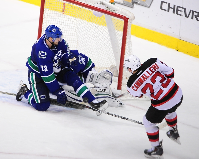 New Jersey Devils vs. Vancouver Canucks - 2/20/15 NHL Pick, Odds, and Prediction