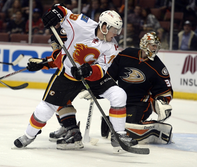 Ducks vs. Flames - 1/21/15 NHL Pick, Odds, and Prediction