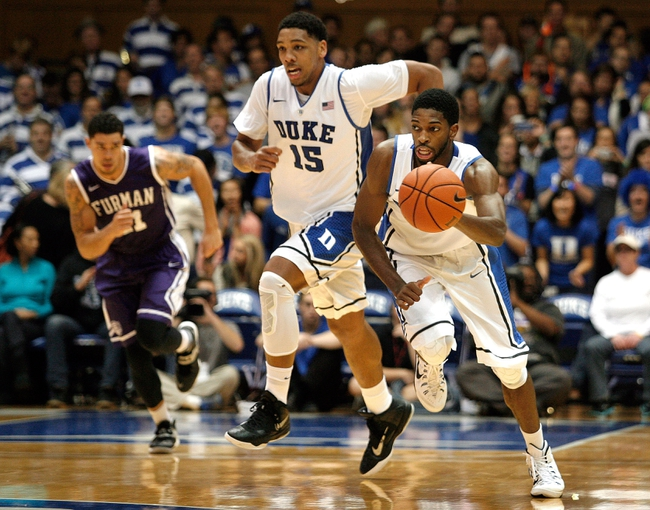 Duke vs. Army - 11/30/14 College Basketball Pick, Odds, and Prediction