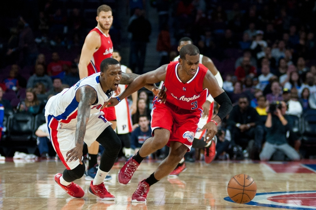 Clippers vs. Pistons - 12/15/14 NBA Pick, Odds, and Prediction