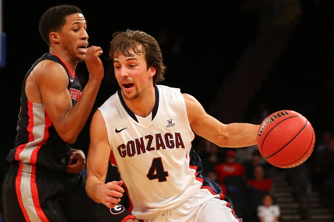 St. John's vs. Gonzaga - 11/28/14 College Basketball Pick, Odds, and Prediction