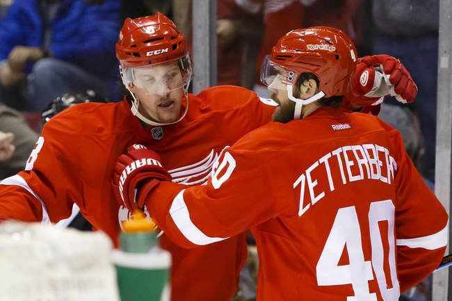 Detroit Red Wings vs. Philadelphia Flyers - 1/17/16 NHL Pick, Odds, and Prediction