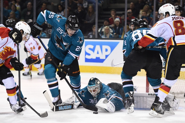 Calgary Flames vs. San Jose Sharks - 12/6/14 NHL Pick, Odds, and Prediction