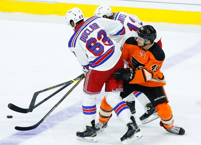 Rangers vs. Flyers - 11/29/14 NHL Pick, Odds, and Prediction