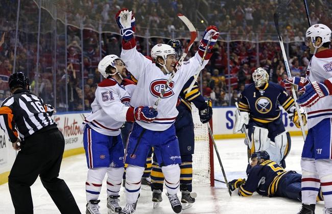 Montreal Canadiens vs. Buffalo Sabres - 11/29/14 NHL Pick, Odds, and Prediction