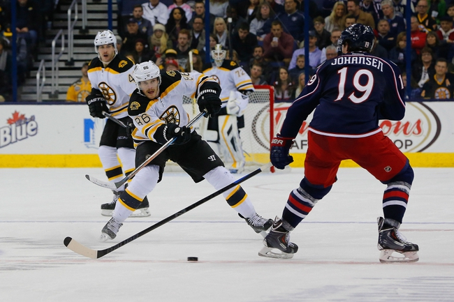Boston Bruins vs. Columbus Blue Jackets - 1/17/15 NHL Pick, Odds, and Prediction