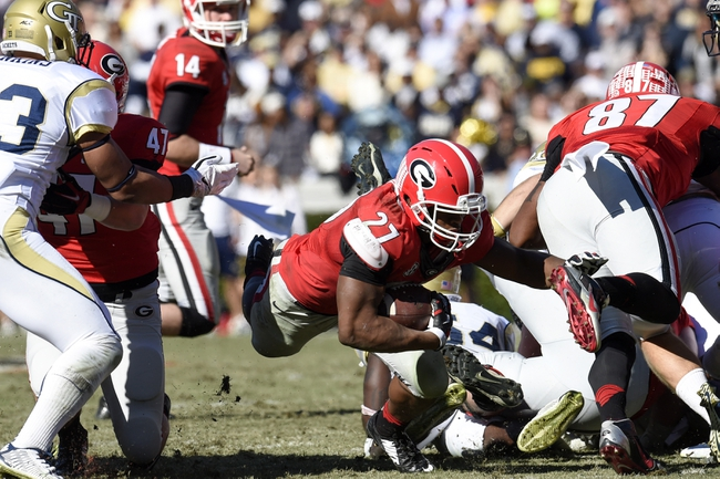 Georgia vs. Louisiana Monroe - 9/5/15 College Football Pick, Odds, and Prediction