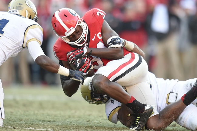 Louisville vs. Georgia Bulldogs Belk Bowl - 12/30/14 College Football Pick, Odds, and Prediction