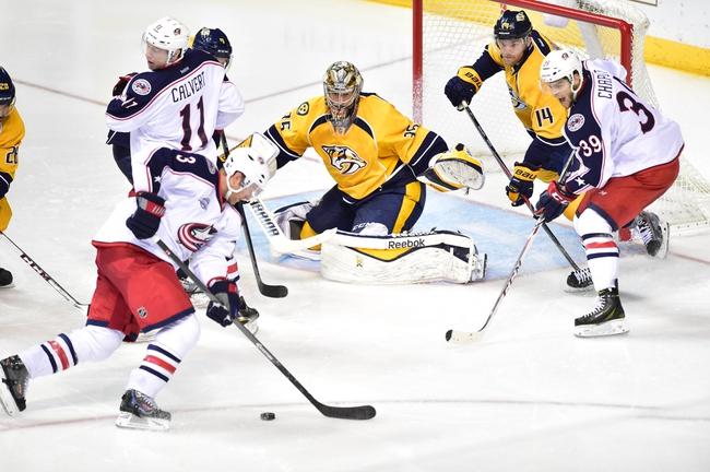 Blue Jackets vs. Predators - 12/22/14 NHL Pick, Odds, and Prediction