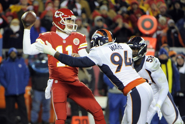 Fantasy Football 2015: Broncos at Chiefs 9/17/15 Week 2 Preview