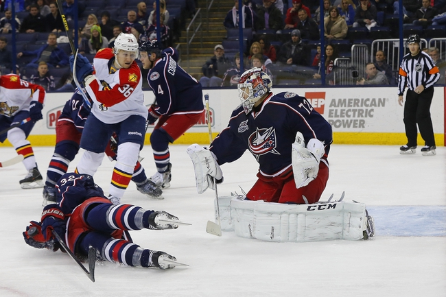 Florida Panthers vs. Columbus Blue Jackets - 12/4/14 NHL Pick, Odds, and Prediction