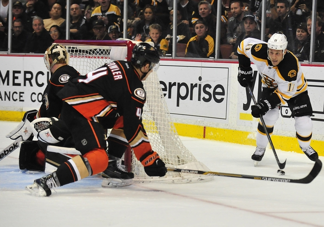 Bruins vs. Ducks - 3/26/15 NHL Pick, Odds, and Prediction