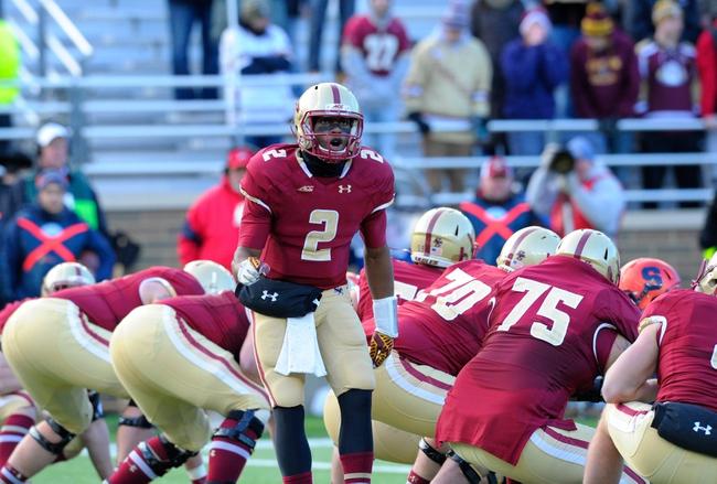 Boston College vs. Penn State - 12/27/14 Pinstripe Bowl Pick, Odds, and Prediction