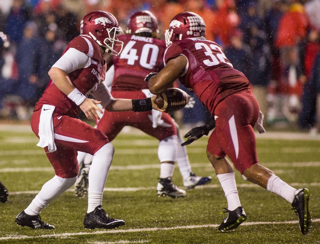 Arkansas vs. Texas - 12/29/14 Texas Bowl Pick, Odds, and Prediction