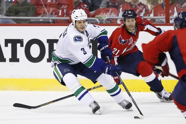 Vancouver Canucks vs. Washington Capitals - 10/22/15 NHL Pick, Odds, and Prediction