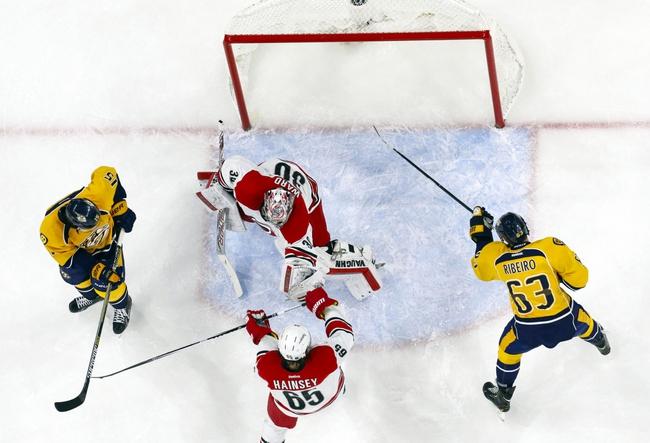 Predators vs. Hurricanes - 1/6/15 NHL Pick, Odds, and Prediction