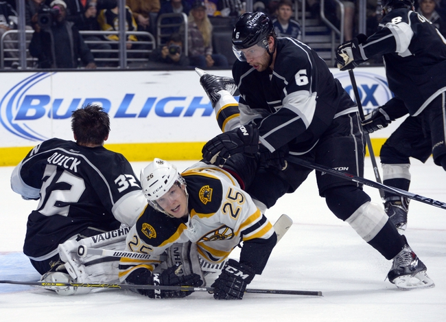 Bruins vs. Kings - 1/31/15 NHL Pick, Odds, and Prediction